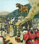 Golden calf, worship