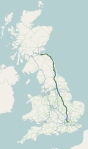 Roman road in Britain