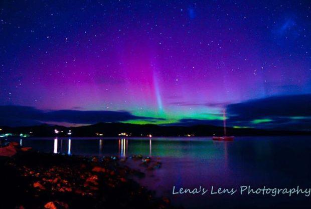 Aurora in Tasmania