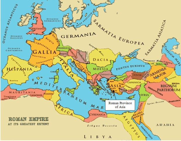 Roman empire at its greatest