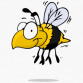 Busy bee cartoon