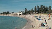 beach scene in Perth WA