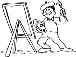 Cartoon artist