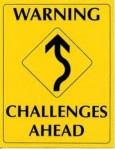 Warning, challenges ahead image