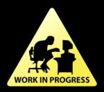working cartoon