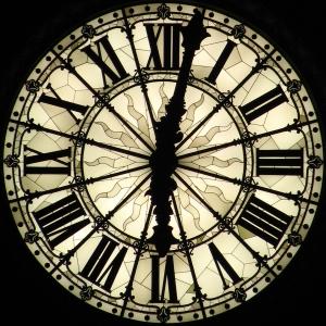 Clock, Roman numerals