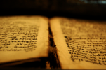 Image of old scriptures